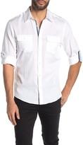 Perry Ellis Patch Pocket Slim Fit Shirt
