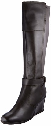 Geox Girls' D Inspiration Wedge Boots