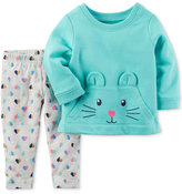 Carter's 2-Pc. Character Kangaroo Top and Printed Leggings Set, Baby Girls (0-24 months)