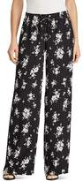Lauren Ralph Lauren Floral Print Wide Leg Pants