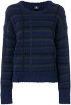 Paul Smith striped knit sweater - women - Polyamide/Wool - XS
