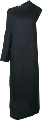 Sartorial Monk One-Sleeve Maxi Dress