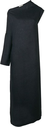 Sartorial Monk One-Sleeve Maxi Dress