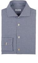 Kiton Men's Gingham Cotton Dress Shirt