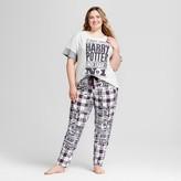 Champion Women's Plus Size Pajamas Harry Potter T-Shirt/Leggings Set