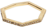 Maiyet 18K Yellow Gold & 0.31 Total Ct. Diamond Geometric Stackable Ring