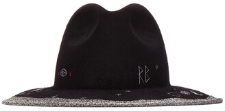 Ruslan Baginskiy Embroidered Fedora Hat