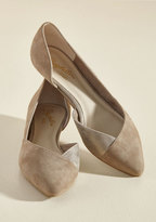 Advantage Suede Wedge in Taupe in 6