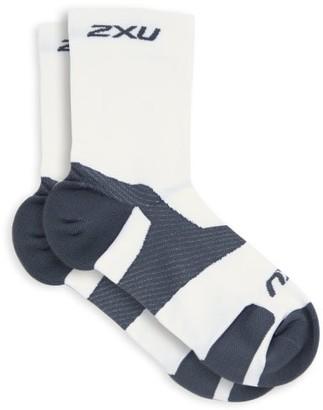 2XU Vectr Light Cushion Socks - White
