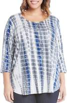 Karen Kane Three Quarter Sleeve Tee