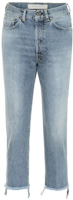 Golden Goose Texas cropped straight jeans