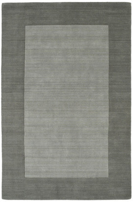 "Kaleen Hand-Tufted Regency Gray Wool Rug, Gray, 3'6""x5'3"""