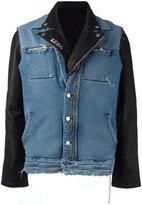 RtA paneled denim jacket