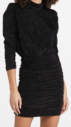 Rebecca Vallance Viper Long Sleeve Mini Dress