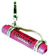 Juicy Couture Authentic Hot Pink Yoga Mat Charm