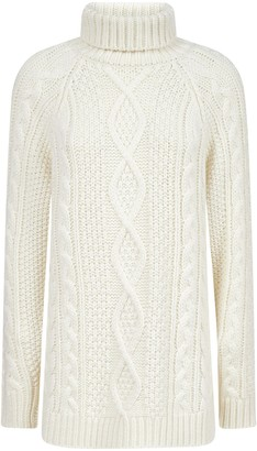 P.A.R.O.S.H. Roll-Neck Chunky Knit Sweater