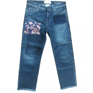 Max Mara Weekend Blue Cotton Jeans for Women