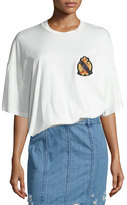 Public School Lilith Oversized Cotton Jersey Tee, White