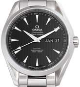 Omega Men's Seamaster 43mm Steel Bracelet & Case Automatic Black Dial Analog Watch 231.10.43.22.01.002