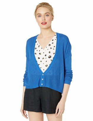 Cupcakes And Cashmere Women's ferretti Stitch Cardigan