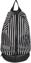 adidas by Stella McCartney Studio Striped Twill Backpack