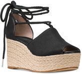 MICHAEL Michael Kors Hasting Mid-Wedge Sandals