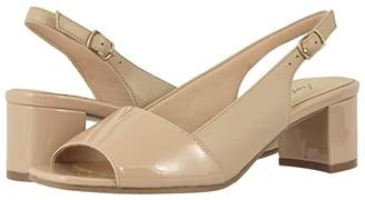 Trotters Monique (Black/Black) Women's Shoes