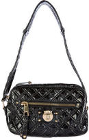 Marc Jacobs Quilted Patent Leather Shoulder Bag