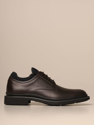 Tod's Tods Brogue Shoes Tods Derby In Hammered Leather With Neoprene Sock