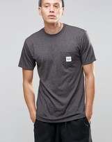 HUF T-Shirt With Box Logo Pocket