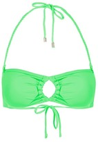 Topshop Braid Bandeau Bikini Top