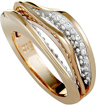 Swarovski Crystal Rose Gold Plated Ring