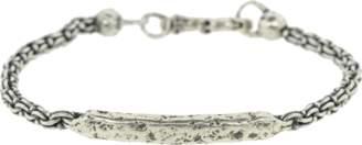John Varvatos Distressed ID Bracelet