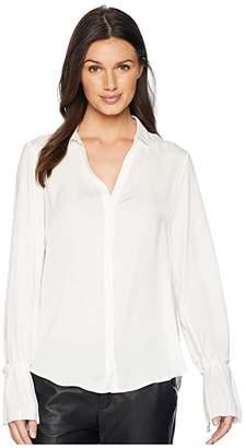 Paige Abriana Shirt (White) Women's Clothing