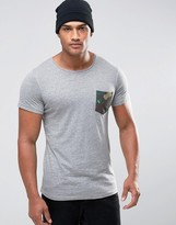 Jack and Jones T-Shirt with Contrast Pocket