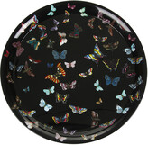 Fornasetti Farfalle Black Tray