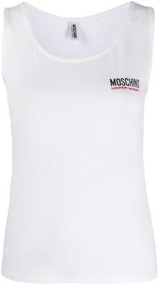 Moschino Logo Print Camisole