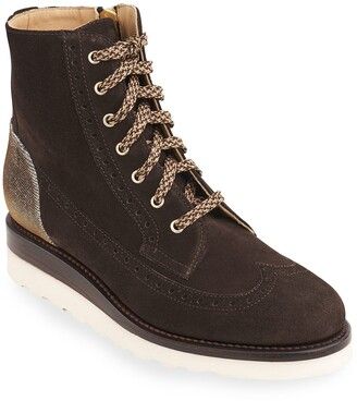 The Office of Angela Scott Mr. Harrison Combat Lace-Up Boots