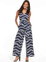 Warehouse Chain Print Jumpsuit
