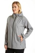 Champion Plus Size Hooded Soft Shell Rain Jacket