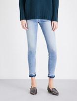 Hudson Krista super-skinny mid-rise jeans