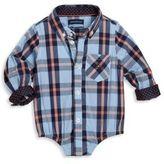 Andy & Evan Baby Boys Plaid Shirt Bodysuit