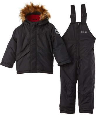 DKNY Jacket & Bubble Snowsuit