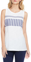 Vince Camuto Mixed Stripe Muscle Tank