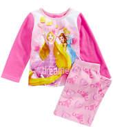 Disney Disney'sandreg; Princesses 2-Pc. Pajama Set, Toddler Girls