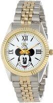 Disney Kids' W000558 Minnie Mouse Two-Tone Status Watch