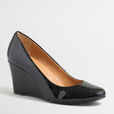 J.Crew Factory Sylvia patent wedges