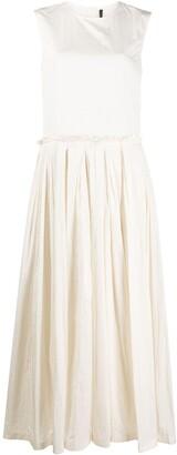 Sara Lanzi Pleated Nylon Dress