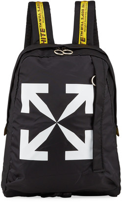 Off-White Men's Easy Arrow Nylon Backpack