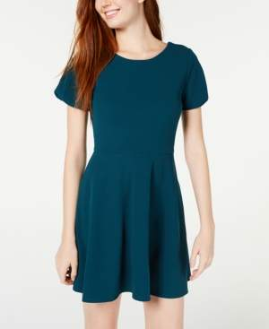 Speechless Juniors' Skater Dress